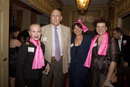 Esther and Jim Ferguson, Laura Gates, and Angela Mack