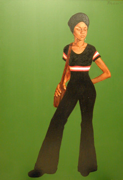 Ms. Johnson (Estelle), by Barkley Hendricks