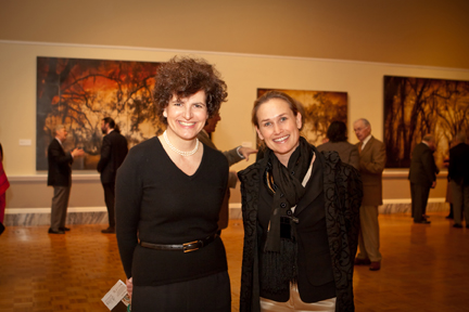 Executive Director Angela Mack and Rebekah Jacob