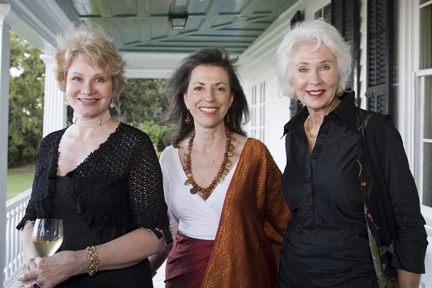 Barbara Hearst, Carolyn Rivers, and Alice Wyatt