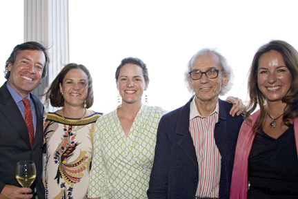 Kevin Mauney, Helen Pratt-Thomas, Lucile Cogswell, Christo, and Michelle Mauney