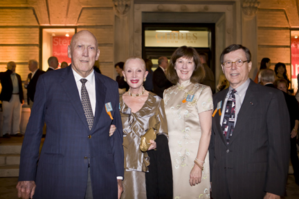 Jim and Esther Ferguson with Mary and Sam Waters
