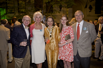 Michael Doniger, Alice Wyatt, Janice Doniger, Hunter Higgison, and Lance Wyatt