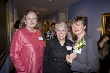 Susan Dickson, Glenna Greenslit, and Marlies Tindall