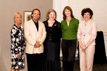 Bettina Whyte, Smith Coleman, Anne Cimballa, Mary Whyte, and Angela Mack