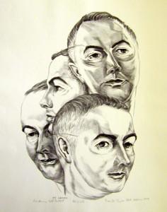 Academy Self Portrait, 1949