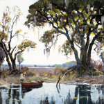 Morning Light Near Charleston, South Carolina, ca. 1940, by Anthony Thieme (American, 1888 – 1954)