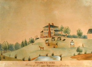 Tranquil-Hill The Seat of Mrs. Ann Waring, Near Dorchester, ca. 1805–1820
