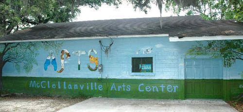 McClellanville Arts Center Mural