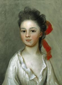 Henriette Charlotte Chastaigner (Mrs. Nathaniel Broughton), by Henrietta de Beaulieu Dering Johnston