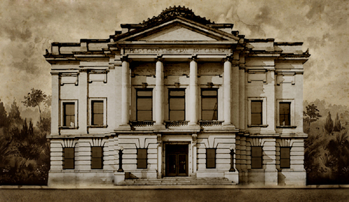 Gibbes Museum of Art, facade