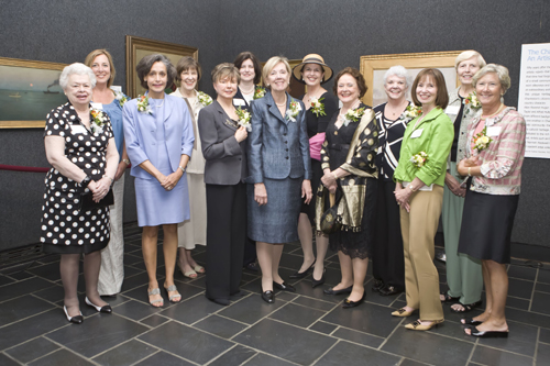 Past presidents of the Women's Council at the 60th Anniversary celebration.