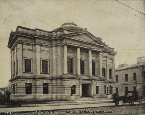 The Gibbes Memorial Art Gallery, 1906.