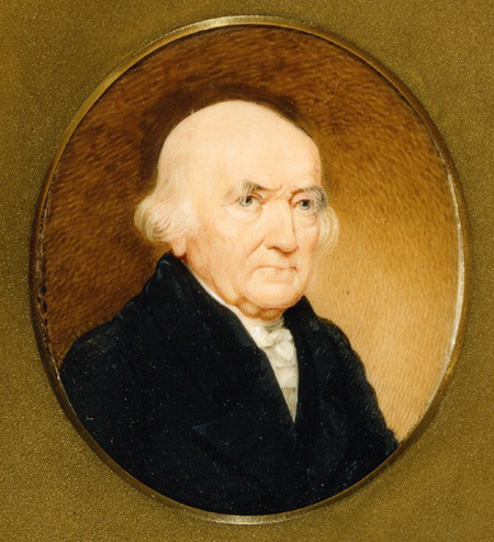 Nathaniel Russel, 1818, by Charles Fraser