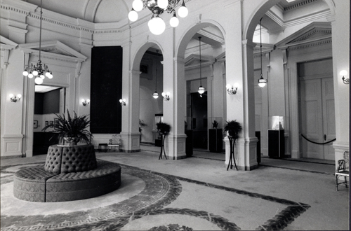 A view of the Rotunda gallery ca. 1976.