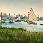 Shimmering Harbor, by Donald Demers