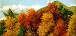 Brilliant Autumn Foliage, by William Aiken Walker (American, 1838 - 1921)