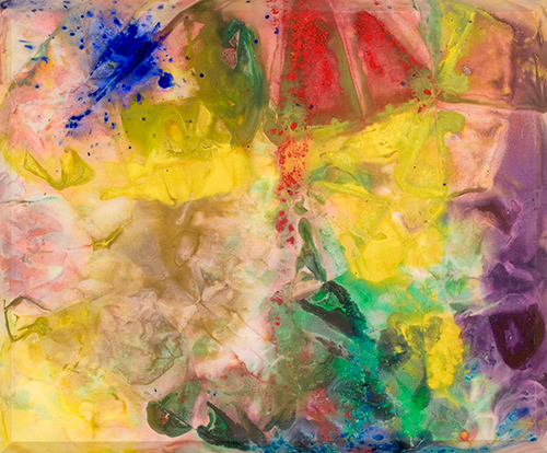 Zoo Again, 1972, by Sam Gilliam (American, b. 1933)