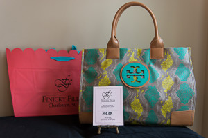 Tory Burch Tote Bag & $50 Finicky Filly Gift Certificate