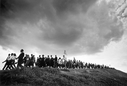 Selma to Montgomery March, 1965, by James Karales