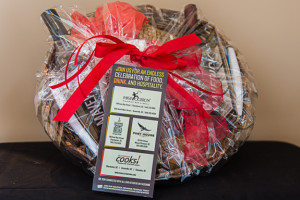 Lowcountry-style basket of Maverick Culinary Treats
