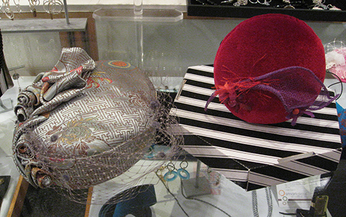 Meyriel's new hat designs available at the Gibbes Museum Store