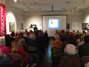 Executive Director Angela Mack gave a lunchtime lecture on Impressionism and Charleston in January.