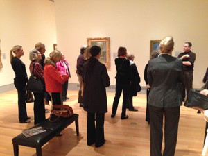 Gibbes on the Go traveled to the Columbia Museum of Art for a curator-led tour of their Impressionism exhibition.