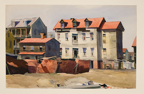 Charleston Slum, 1929 Edward Hopper (American, 1882–1967)