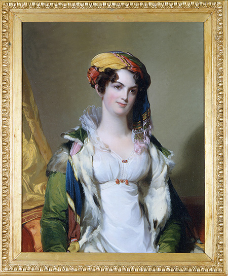 Mrs. Robert Gilmor, Jr., 1823, by Thomas Sully