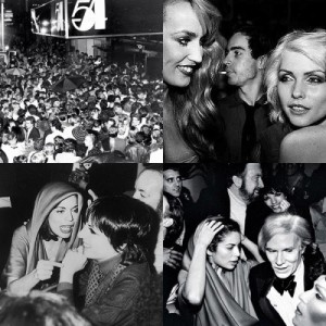 Photos from the original Studio 54 club in New York City.