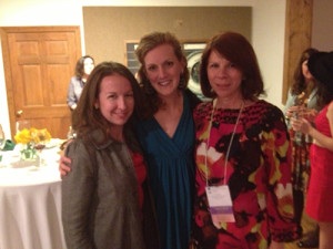 Amanda Breen, Rebecca Sailor, and Zinnia Willits at the South Carolina Federation of Museums (SCFM) conference.
