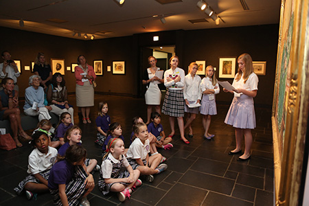 Ashley Hall Junior Docent presentations
