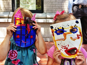 Creative and colorful masks!