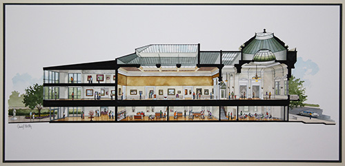 Rendering of the Renovated Museum