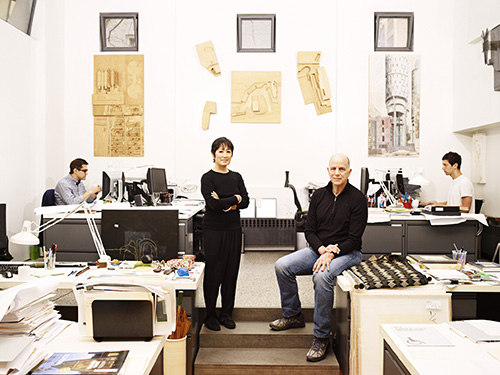 Williams and Tsien in the New York Studio