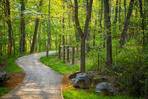 trails at Crystal bridges