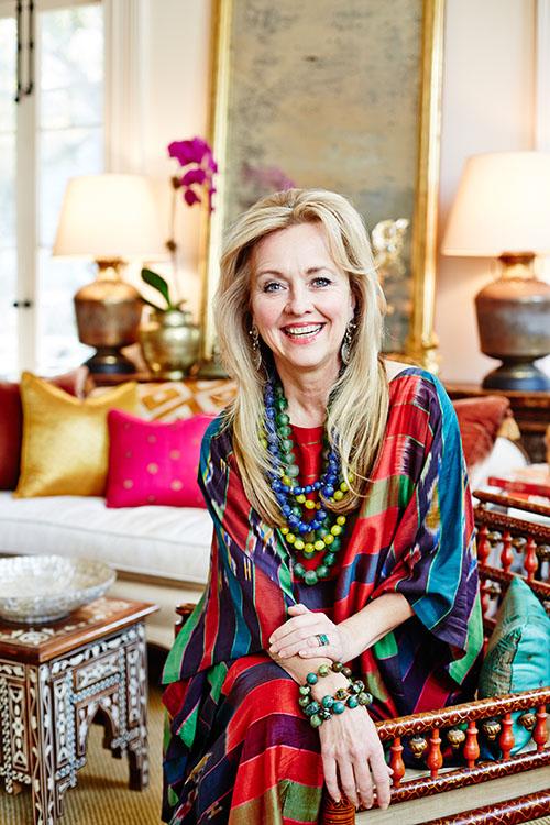 Susan Hull Walker in her studio