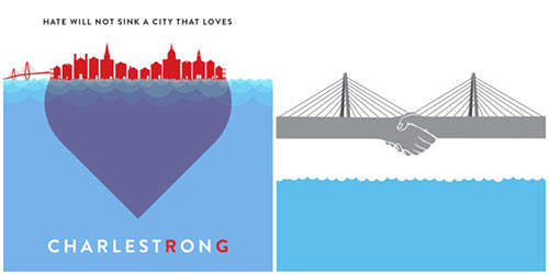 Charleston Strong images by Y'allsome Goods