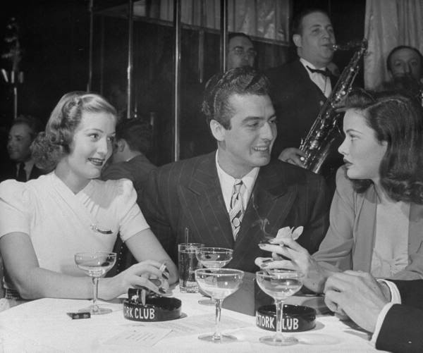 Shirley Temple and company the Stork Club.