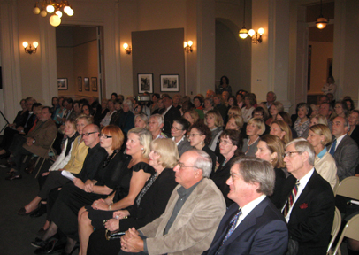 A sold out crowd enjoyed the Nov. 4 lecture on Sargent's Women