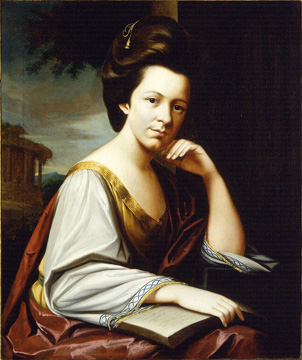 Mrs. Charles Cotesworth Pinckney (Sarah Middleton), ca. 1774, by Henry Benbridge