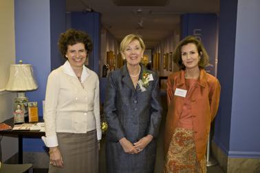 Angela Mack, Ginny Brush, and Elizabeth Bradham