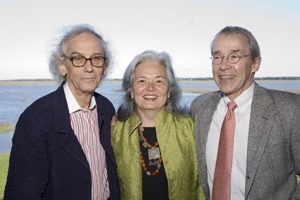 Christo, Edith Howle, and Rick Throckmorton