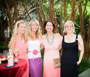 Claire Slover, Jennifer Burns, Helen Rutledge, and Francis Parker