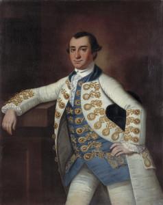 Colonel Barnard Elliott, Jr., ca. 1766
