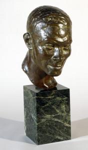 Head of Jimmie Daniels, ca. 1933