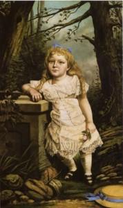 Portrait of Miss Percy Ferguson, Greenville Mississippi