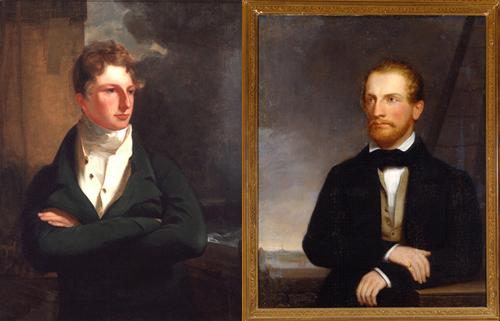 Charles Izard Manigault and Louis Manigault