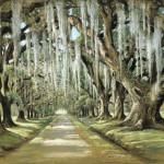 Avenue at the Oaks, Goose Creek, ca. 1953, by Elizabeth O'Neill Verner (American, 1883 – 1979)